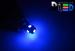 Светодиодная автолампа W5W T10 - 5 SMD5050 1,2Вт (Синяя)