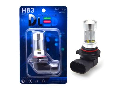 Светодиодная автолампа HB3 9005 - 8 CREE Линза 40Вт