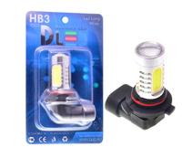 Светодиодная автолампа HB3 9005 - 4 CREE Линза 9,5Вт