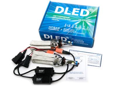Светодиодная автолампа HB3 9005 - DLED SL6 Premium 23Вт