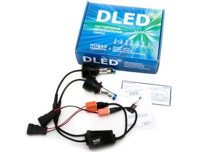 Светодиодная автолампа HB3 9005 - DLED SL7 Standart 15Вт
