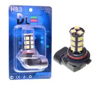 Светодиодная автолампа HB3 9005 - 18 SMD5050 Black 4,32Вт
