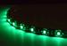 Светодиодная лента для авто - 18 SMD3528 300мм 1,44Вт (Зелёная)