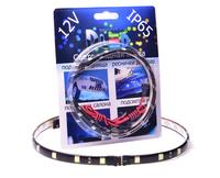 Светодиодная лента для авто - 12 SMD5050 300мм 2,88Вт (Жёлтая)
