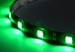 Светодиодная лента для авто - 12 SMD5050 300мм 2,88Вт (Зелёная)