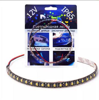 Светодиодная лента для авто - 36 SMD3528 300мм 2,88Вт (Красная)