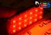 Панель освещения салона - 18 Led Super-Flux 1,8Вт (Красная)