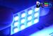 Панель освещения салона - 12 Led SMD5050 2,88Вт (Синяя)