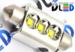 Салонная лампа C10W FEST 41мм - 3 CREE Обманка 9Вт (Белый)