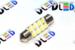 Салонная лампа C5W FEST 36мм - 8 SMD3528 0,64Вт (Белая)
