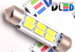 Салонная лампа C5W FEST 36мм - 6 SMD5630 Обманка 2,4Вт (Белая)
