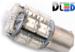 Светодиодная автолампа P21W 1156 - 13 Super-Flux 1,3Вт(Жёлтая)