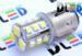 Светодиодная автолампа P21/5W 1157 - 3 SMD5050 + 15 SMD3528 2,22Вт (Белая)