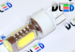 Светодиодная автолампа W21/5W 7443 - 4 HP 6Вт (Белая)