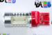 Светодиодная автолампа W21/5W 7443 - 4 HP Линза 6Вт (Красная)