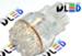 Светодиодная автолампа W27/7W 3157 - 19 Dip-Led 0,95Вт (Белая)