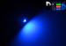 Автомобильная лампа T5 W1,2W - 1 SMD 3528  0,15Вт (Синяя)