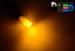 Автомобильная лампа T5 W1,2W - 3 Dip 0,3Вт (Жёлтая)