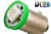 Светодиодная автолампа T4W BA9S - 1 5050SMD 0,24Вт (Зеленая)
