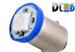 Светодиодная автолампа T4W BA9S - 1 5050SMD 0,24Вт (Синяя)