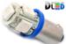 Светодиодная автолампа T4W BA9S - 5 5050SMD 1,2Вт (Синяя)