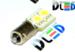 Светодиодная автолампа T4W BA9S - 2 SMD5050 0,48Вт (Белый)