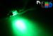 Салонная лампа C5W FEST 31мм - 4 Dip 0,2Вт (Зеленая)
