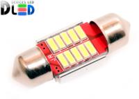 Салонная лампа C5W FEST 31мм - 10 SMD4014 2Вт (Белая)