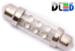 Салонная лампа C5W FEST 39мм - 6 Dip 0,3Вт (Зеленая)