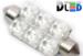 Салонная лампа C10W FEST 41мм - 6SF 2Вт (Синяя)