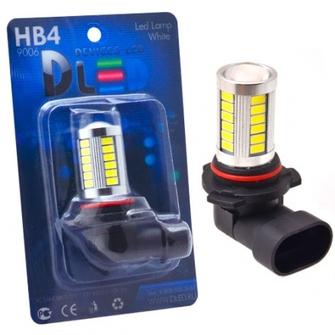 Светодиодная автолампа HB4 9006 - 33 SMD5630 Линза 13.2Вт