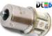 Светодиодная автолампа P21W 1156 - 8 SMD5050 1,92Вт (Жёлтая)