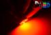 Светодиодная автолампа P21W 1156 - 16 SMD5050 3Вт (Красная)