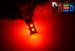 Светодиодная автолампа P21W 1156 - 13 SMD5050 3,12Вт (Красная)