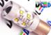 Светодиодная автолампа P21W 1156 - 10 CREE Линза 50Вт (Белая)