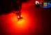 Светодиодная автолампа P21/5W 1157 - 8 SMD5050 2,16Вт (Красная)