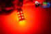 Светодиодная автолампа P21/5W 1157 - 27 SMD5050 6,48Вт(Красная)