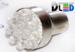 Светодиодная автолампа P21/5W 1157 - 9 Dip-Led 0,45Вт (Белая)