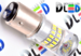 Светодиодная автолампа P21/5W 1157 - 48 SMD3014 Стабилизатор 6Вт(Белая)