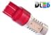 Светодиодная автолампа W21/5W 7443 - 5 CREE Линза 11Вт (Красная)