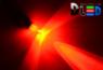 Автомобильная лампа T5 W1,2W - 1 Dip 0,1Вт (Красная)