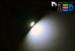 Автомобильная лампа T5 W1,2W - 1 SMD 5050  0,24Вт (Белая)