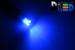 Автомобильная лампа T5 W1,2W - 3 Dip 0,3Вт (Синяя)