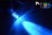 Светодиодная автолампа T4W BA9S - 1 DIP 0,1Вт (Синяя)