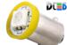 Светодиодная автолампа T4W BA9S - 1 5050SMD 0,24Вт (Жёлтая)