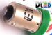 Светодиодная автолампа T4W BA9S - 4 3528SMD 0,2Вт (Зеленый)