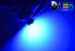 Светодиодная автолампа T4W BA9S - 4 SMD3528 0,2Вт (Синяя)