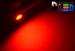 Светодиодная автолампа T4W BA9S - 1 HP 1Вт (Красная)