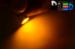 Светодиодная автолампа T4W BA9S - 1 HP 1Вт (Жёлтая)