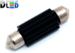 Салонная лампа C10W FEST 41мм - 6 SMD7020 3Вт (Белый)